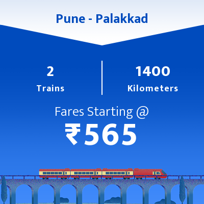 Pune To Palakkad Trains