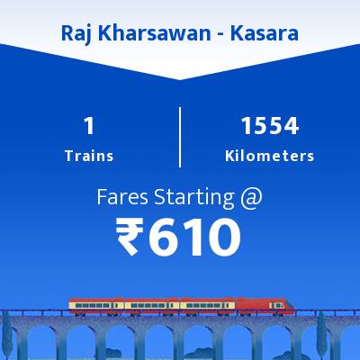 Raj Kharsawan To Kasara Trains