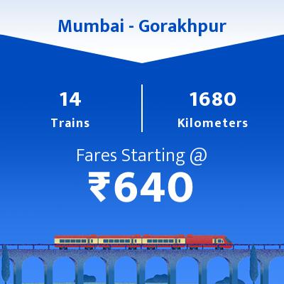 14 Mumbai to Gorakhpur Train Time Table, Seat Availability