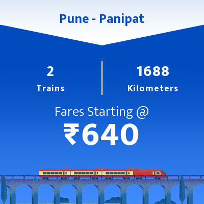 Pune To Panipat Trains