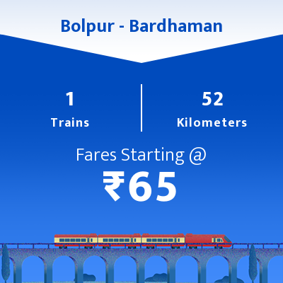 Bolpur To Bardhaman Trains