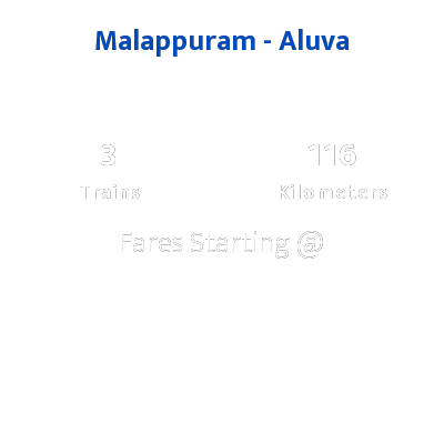 Malappuram To Aluva Trains