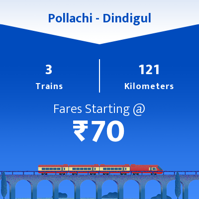 Pollachi To Dindigul Trains