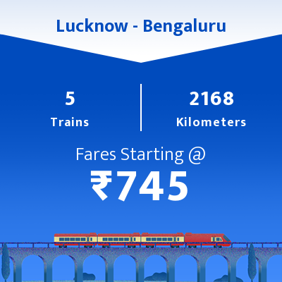 Lucknow To Bengaluru Trains