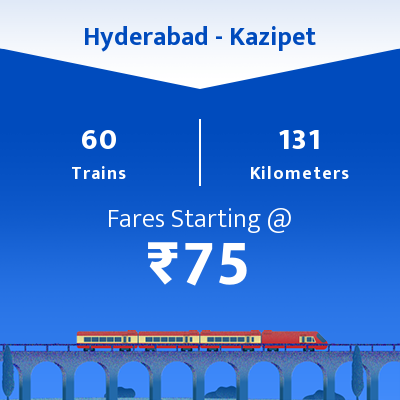 Hyderabad To Kazipet Trains