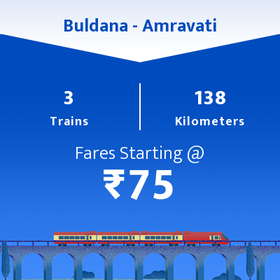 Buldana To Amravati Trains