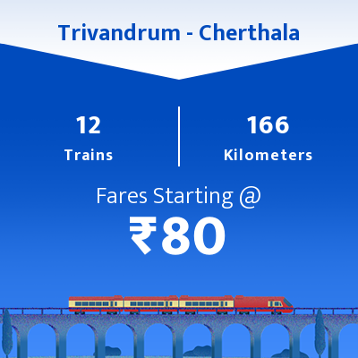 Trivandrum To Cherthala Trains
