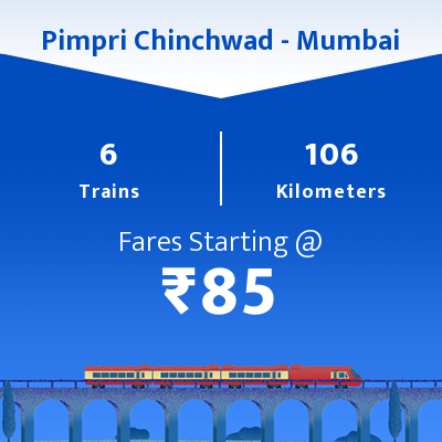 Pimpri Chinchwad To Mumbai Trains