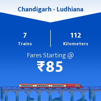 Chandigarh To Ludhiana Trains