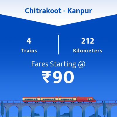 Chitrakoot To Kanpur Trains