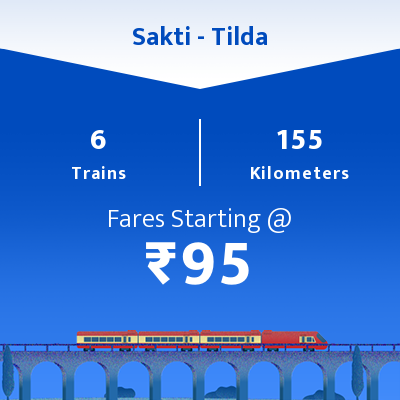 Sakti To Tilda Trains