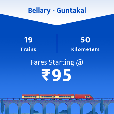 Bellary To Guntakal Trains