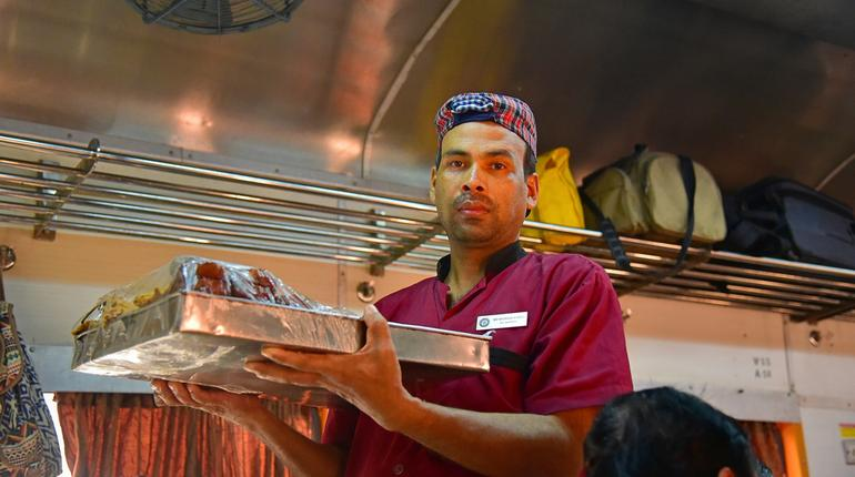 Now, you can see what's cooking in IRCTC Rail Kitchens