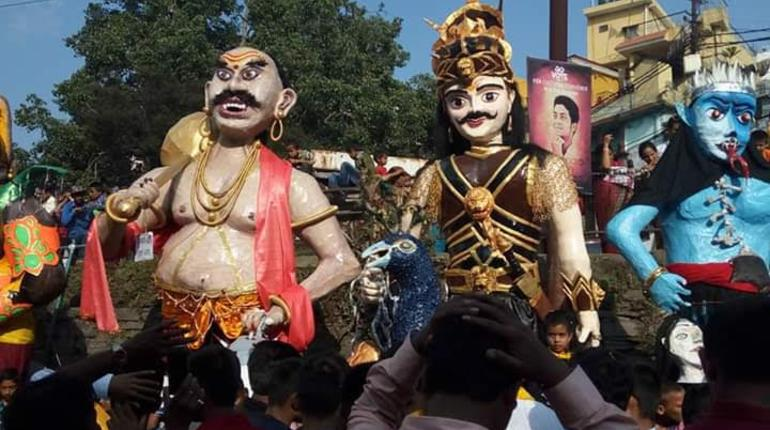 Experiencing the best of Dussehra in these 3 Indian cities