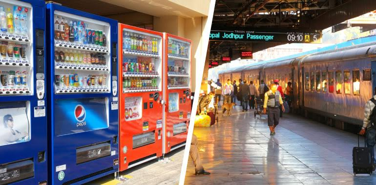 This Railway Station Will Now Have Food Vending Machines!