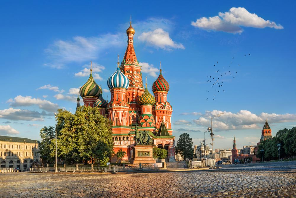 Shanghai to Moscow flights