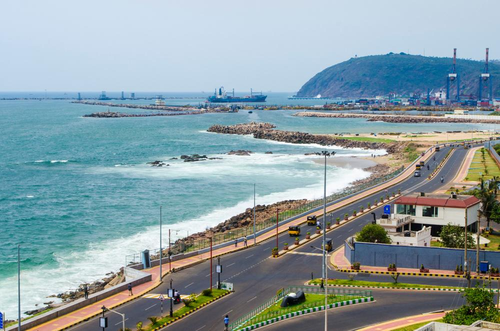 Washington to Vishakhapatnam flights