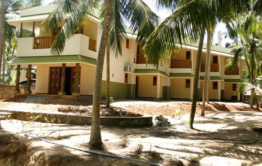 Palmleaves Beach Resort in Thiruvananthapuram