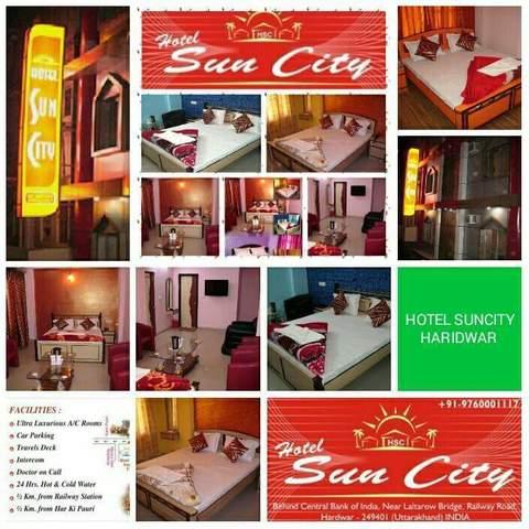 Hotel Suncity in Haridwar