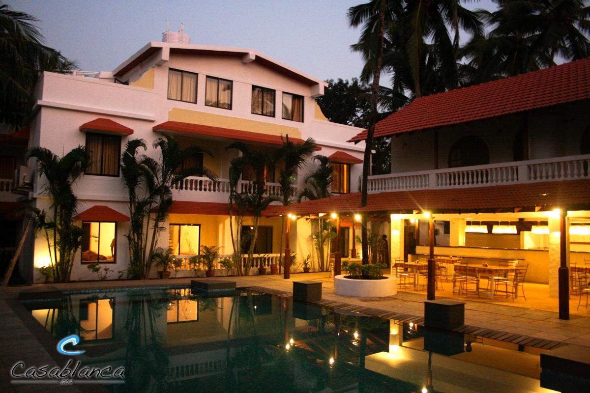 Casablanca Beach Resort in Goa