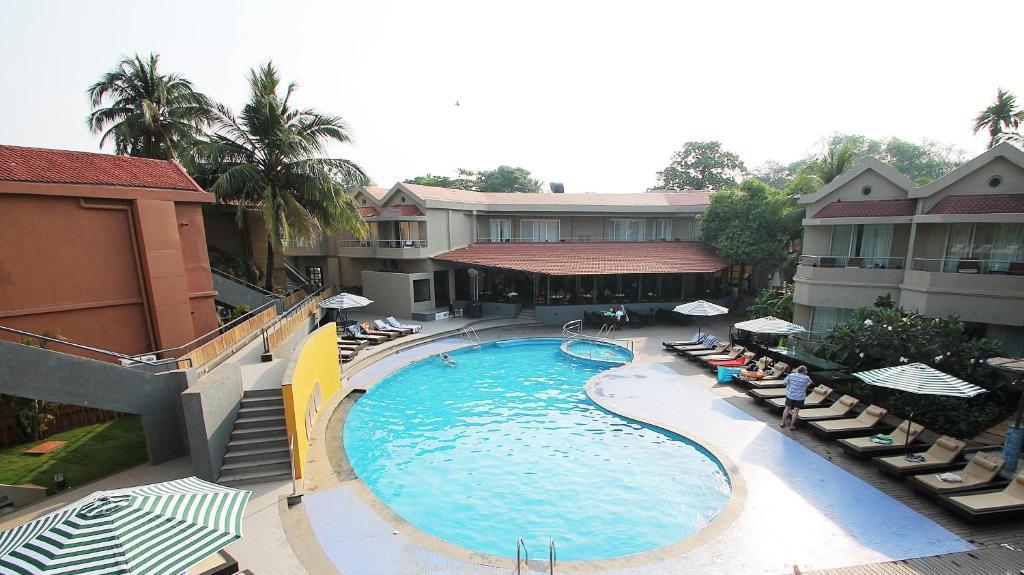 Whispering Palms Beach Resort in Goa