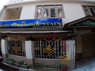 Hotel White Mountain in Gangtok