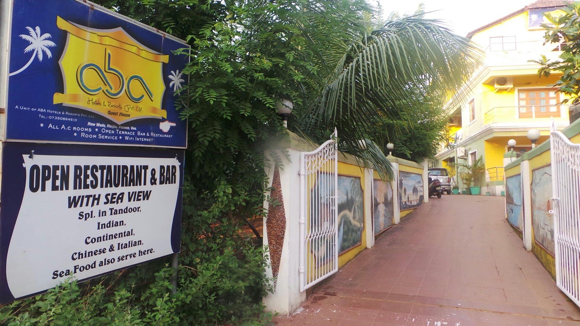 Aba Hotels and Resorts in Goa