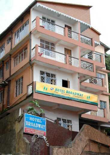 Hotel Broadway in Darjeeling