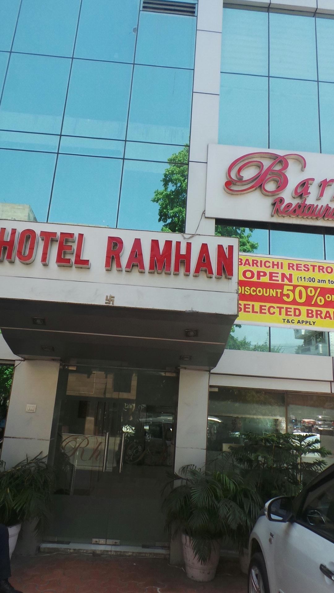 Ramhan Hotel in New Delhi