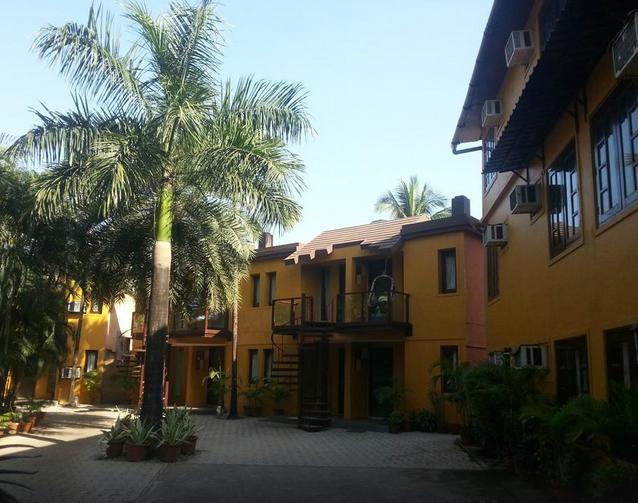 Silver Sands Beach Resort in Daman