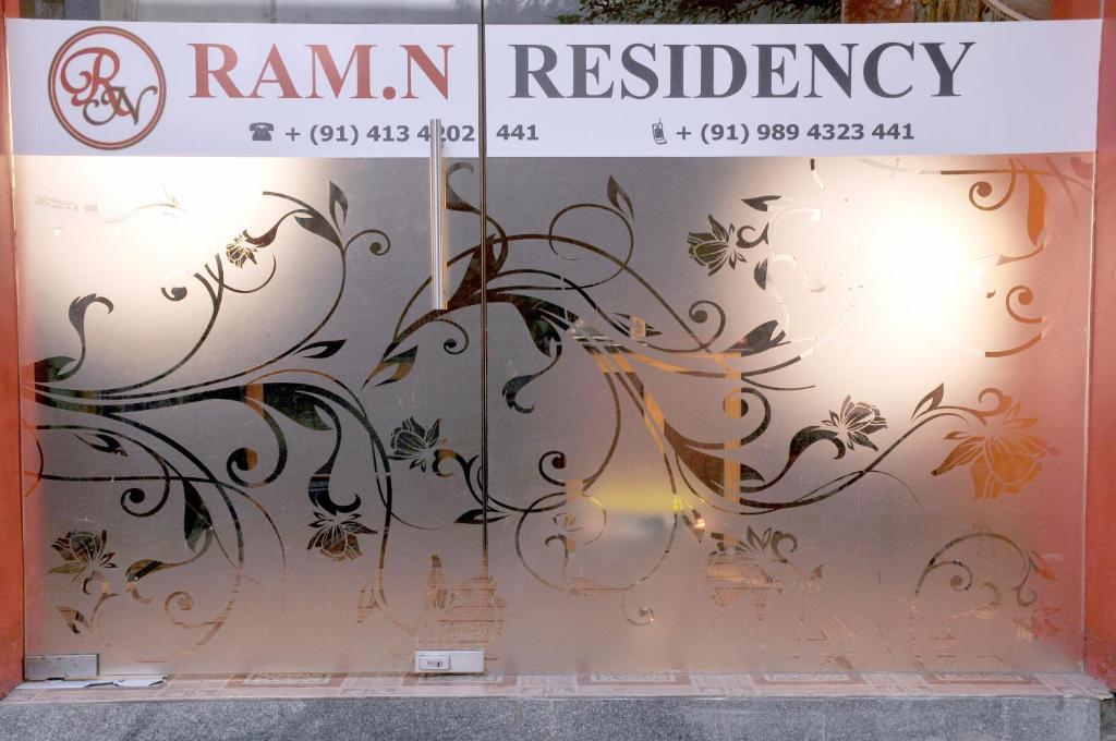 Ram.n Residency in Pondicherry
