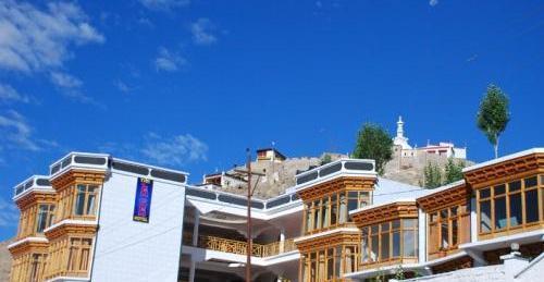 The Leh-chen Hotel in Leh