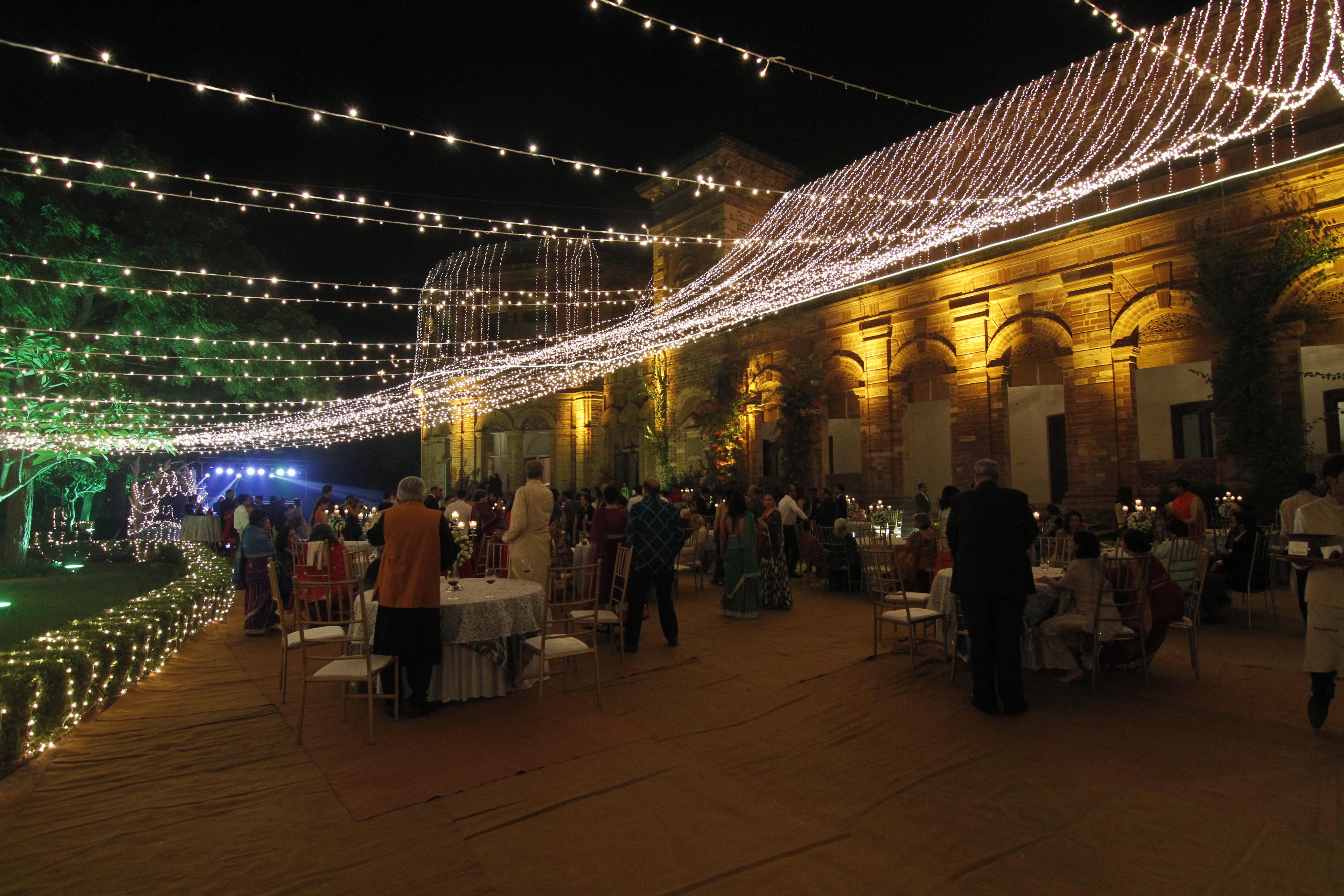 Raj Niwas Palace in Bharatpur