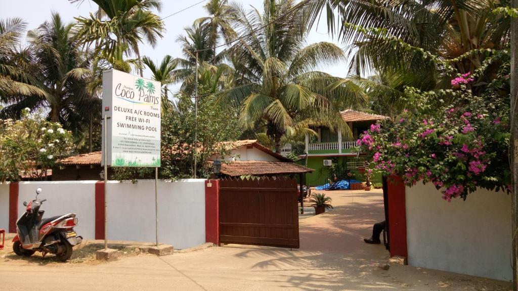 Morjim Coco Palms Beach Resort in Goa
