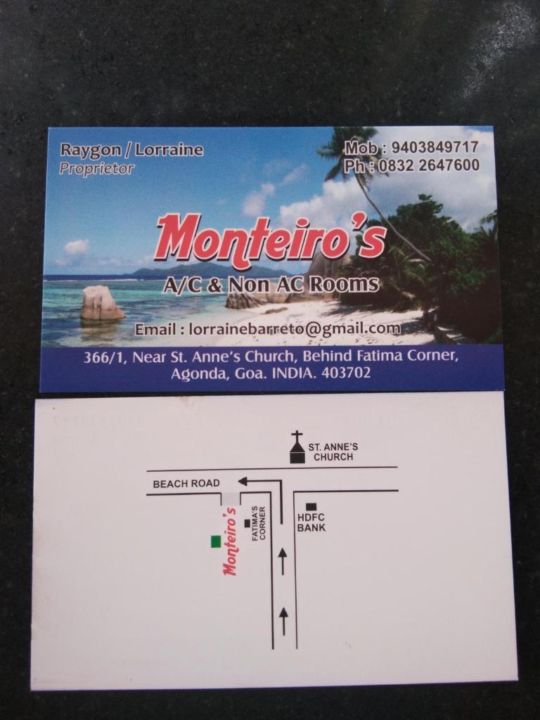 Monteiro's in Agonda