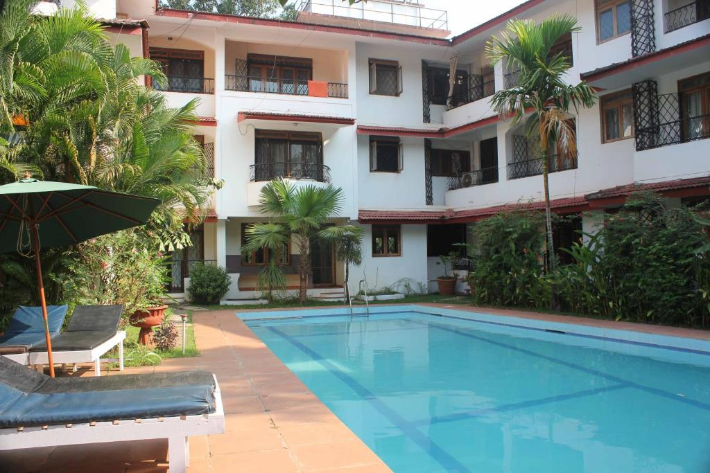 Diana Apartments in Candolim