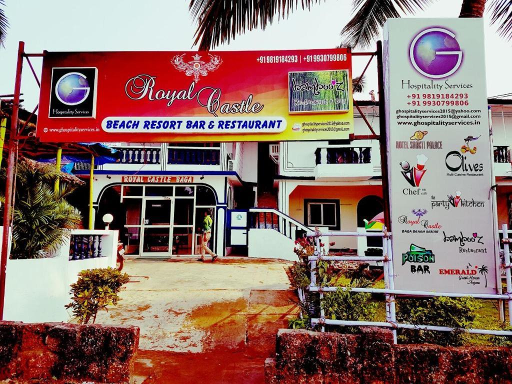 Royal Castle Baga Beach Resort in Goa