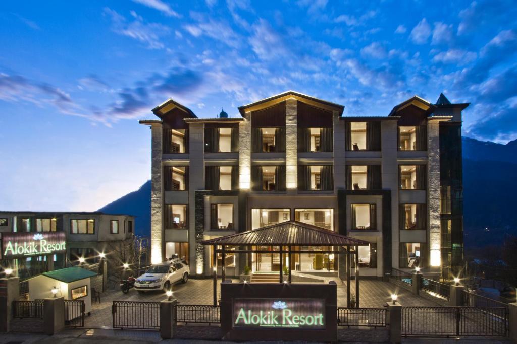 Alokik Resort- Pure Veg in Manali