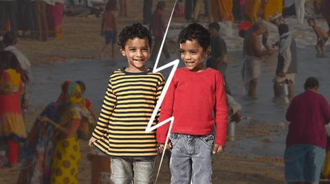 Sorry Bollywood! Twins can no longer be separated at Kumbh