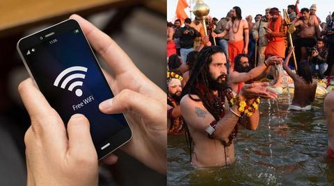 Kumbh Mela ground transformed into high speed Wi-Fi zone